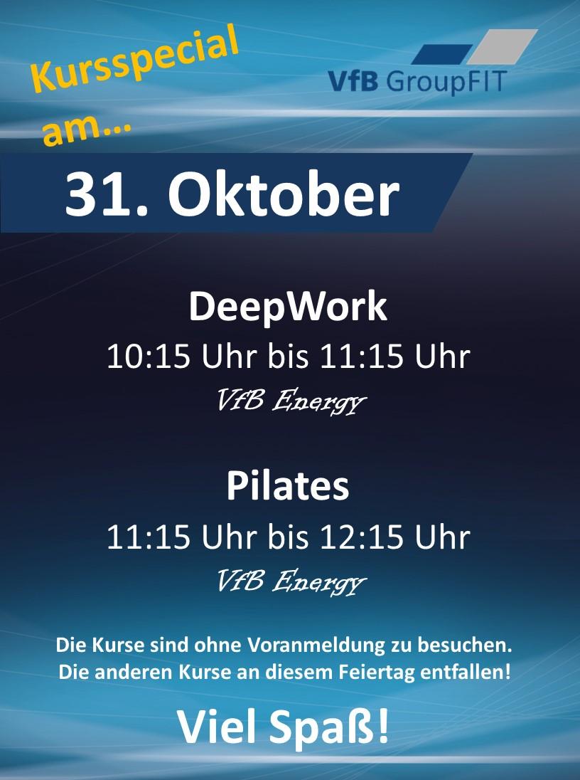 VfB Kindersportschule: Online-Stundenplan